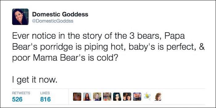 Three Bears Tweet