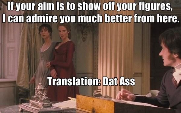 Translation Dat Ass