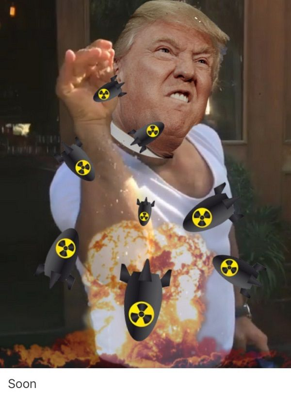 Trump Bombs Salt Bae Memes
