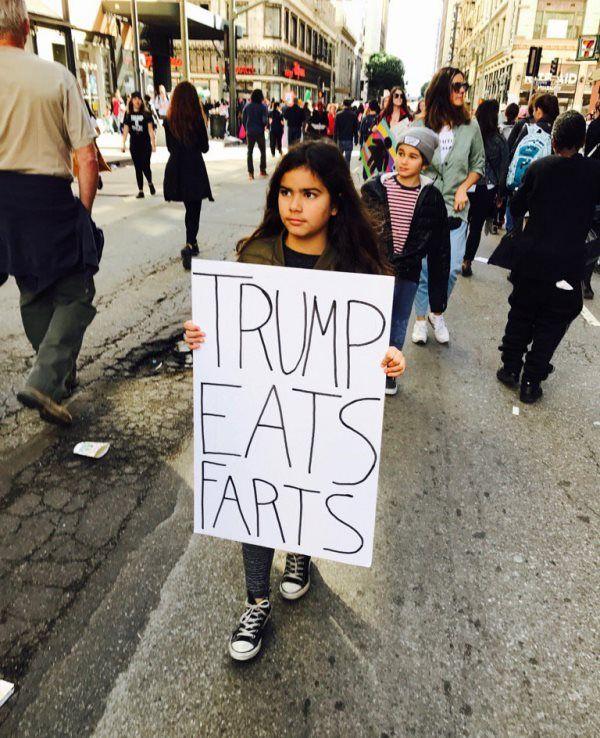 Trump Eats Farts