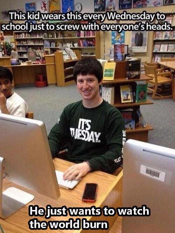 Tuesday Shirt Kid
