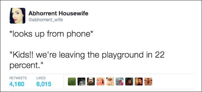 Up From Phone Funny Parent Tweets