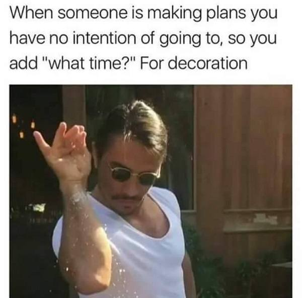 What Time For Decoration