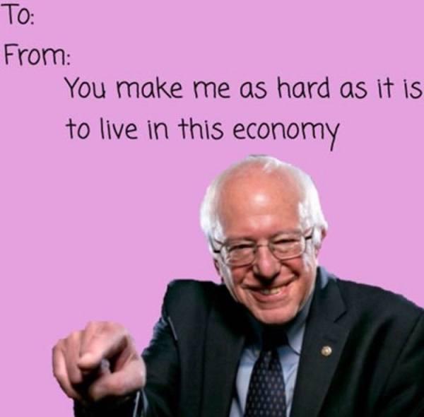 Bernie Hard As Economy