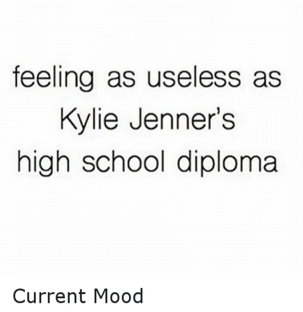 Kylie Jenner's Diploma