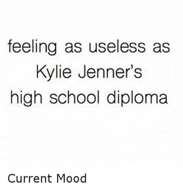 Kylie Jenner's Diploma