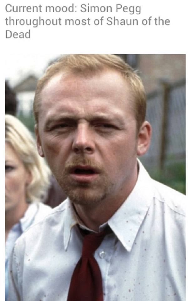 Current Mood Memes Shaun Of The Dead
