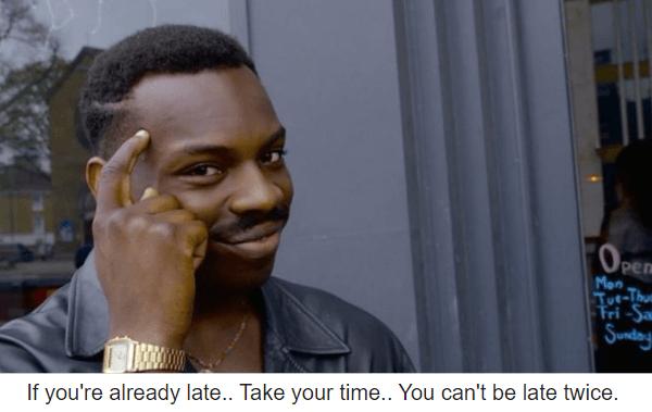 Already Late