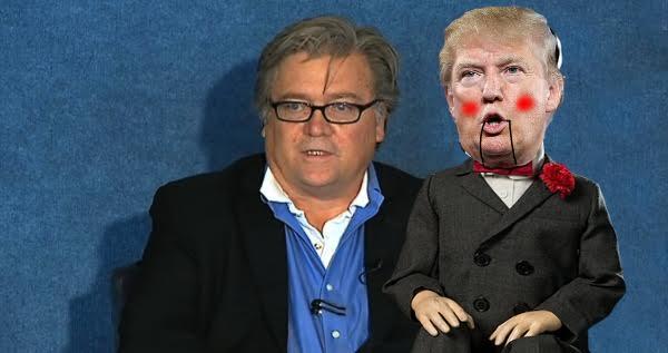 Bannon Puppet