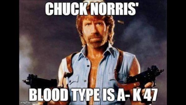 Hilarious Memes About Chuck Norris