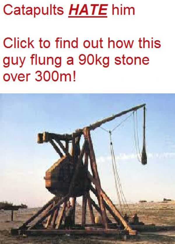 Catapults Hate Him