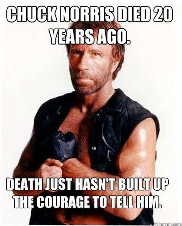 Chuck Norris Memes Death