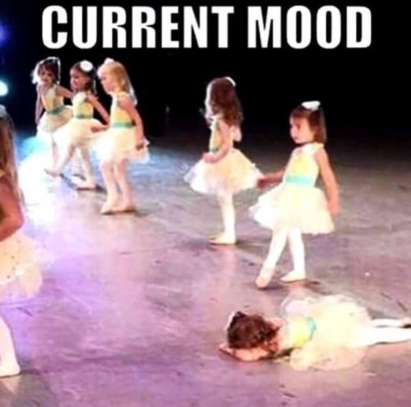 Funny Current Mood Dance Recital
