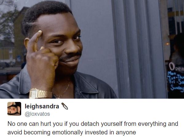 Detach Yourself