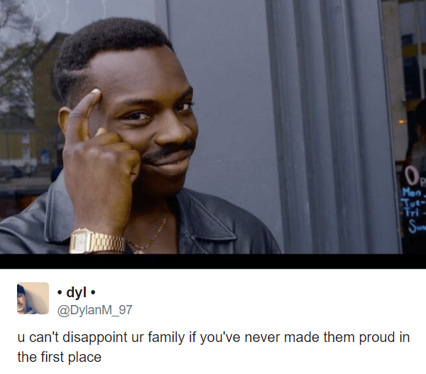 Disappoint Your Family