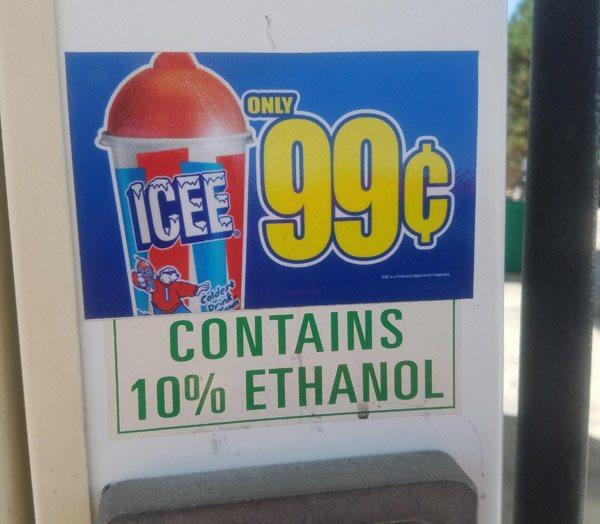 Ethanol Icee