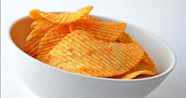 Fancy Bowl Chips Super Bowl