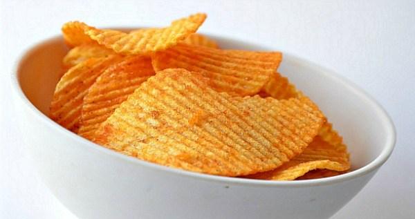 Fancy Bowl Chips Super Bowl