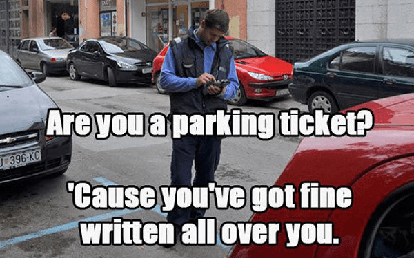 Got A Parking Ticket