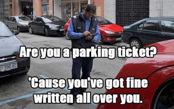Got A Parking Ticket