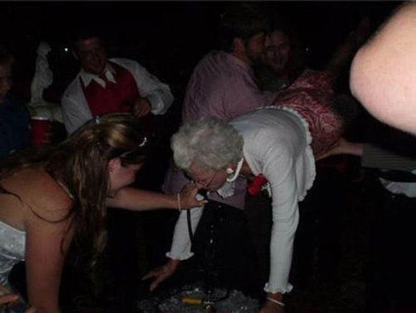 Grandma Kegstand