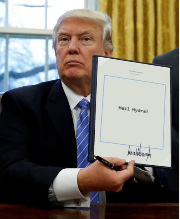 Funny Donald Trump Executive Order Memes