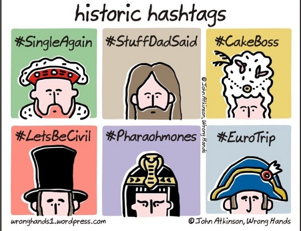 Historic Hashtags