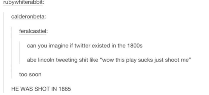 History Joke Twitter