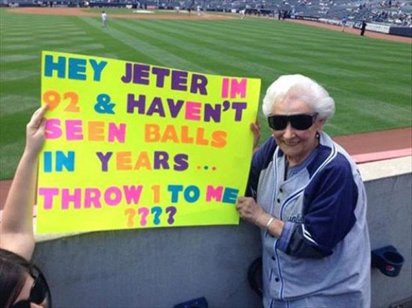 Jeter Sign