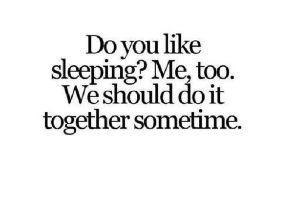 Lets Sleep Together