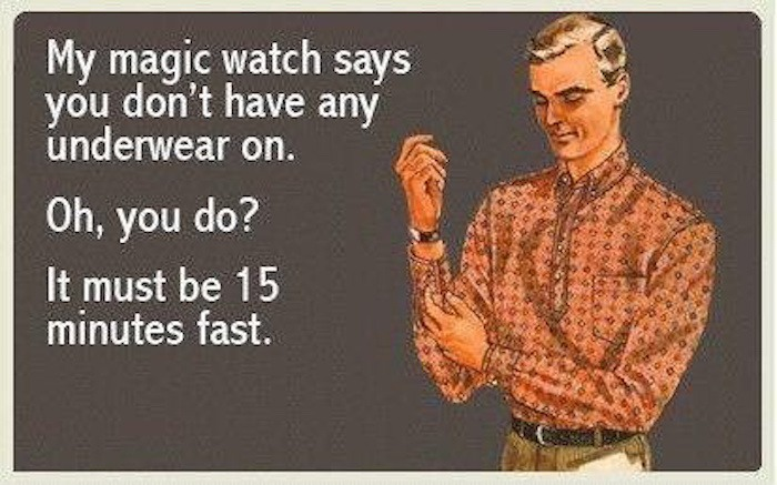 Magic Watch Hilarious Pick Up Lines