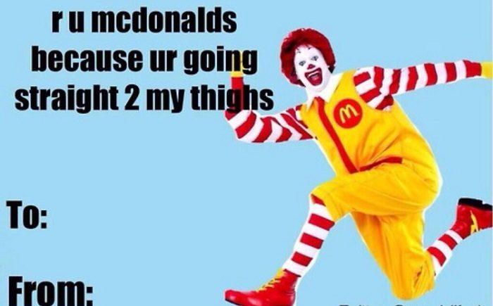 Mcdonalds My Thighs