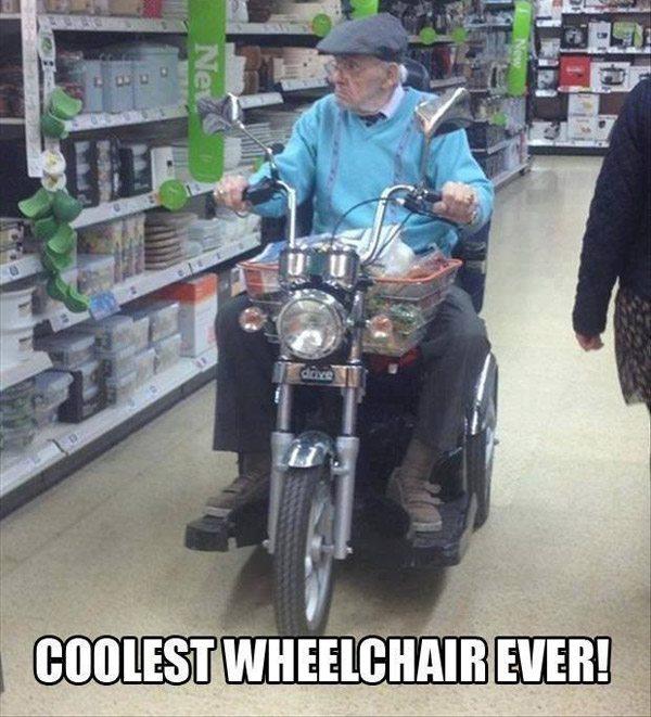 Moto Wheelchair