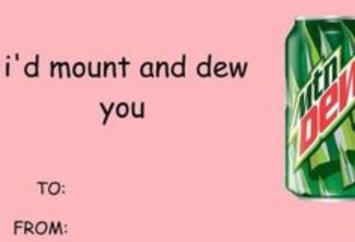 Mount And Dew You