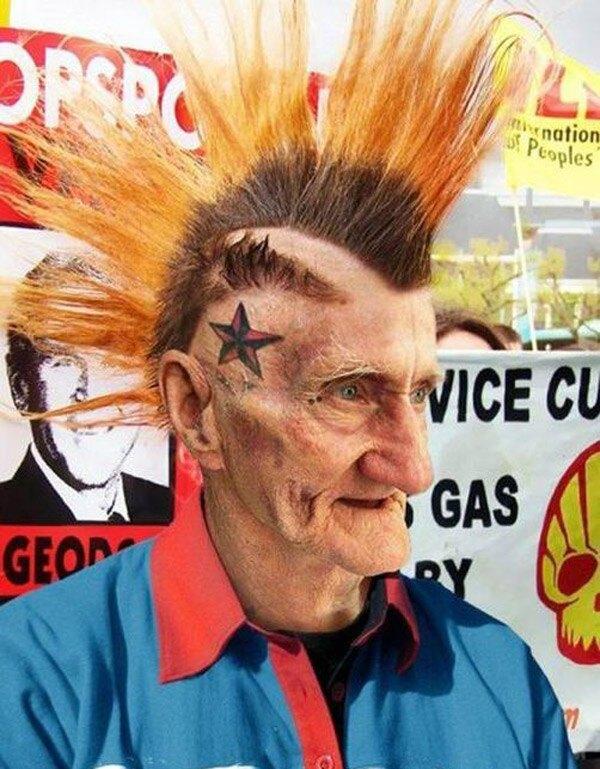 Mowhawk Gramps