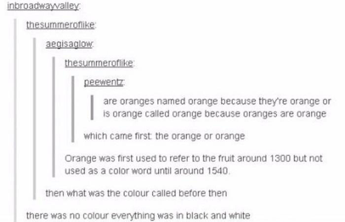 Orange Or Orange