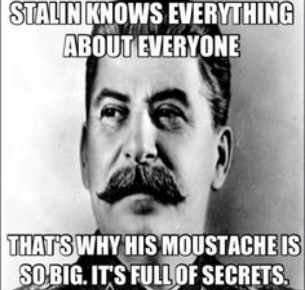 Secrets In His Moustache