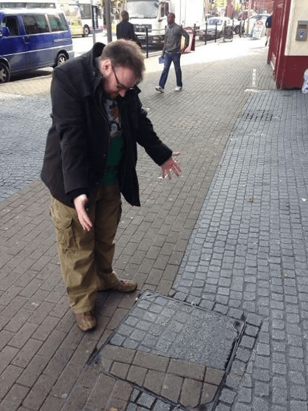 Street Cement Prints