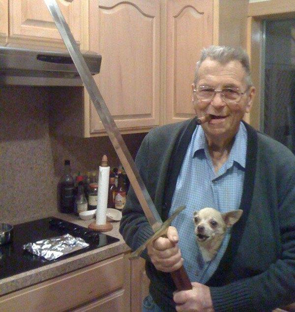 Sword And Dog