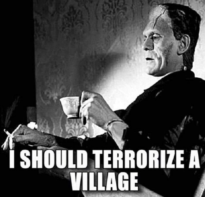 Terrorize A Village