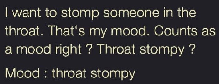 Throat Stompy