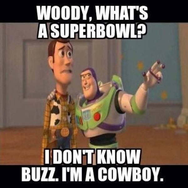 Toy Story Cowboys NFL Meme