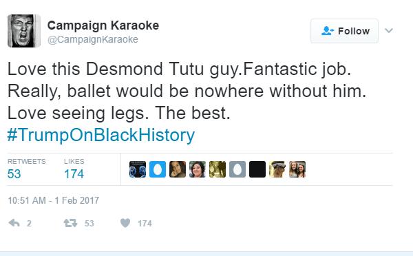 Trump Desmond Tutu