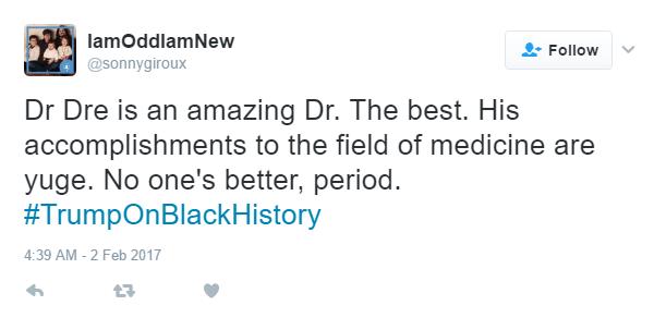 Trump Dr Dre