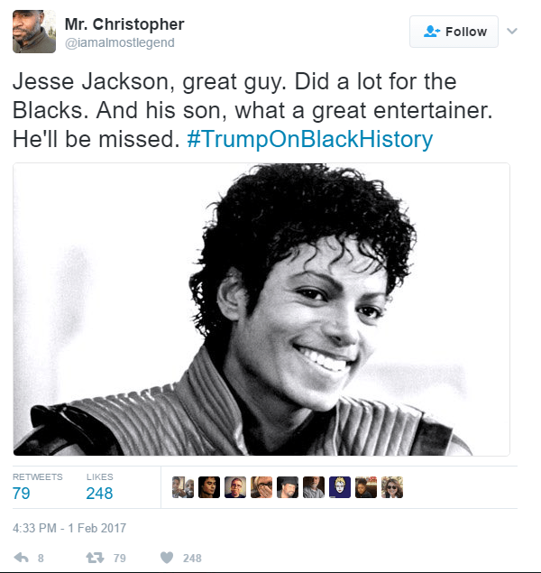 Trump Michael Jesse Jackson
