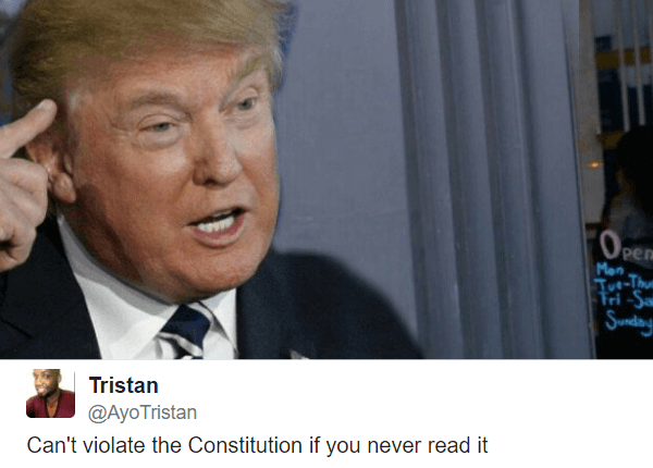 Violate The Constitution