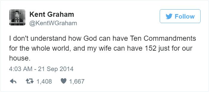 Wife Is Greater Than God