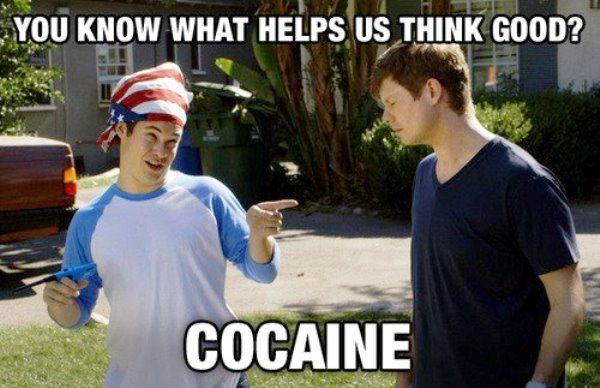 Workaholics Quotes Cocaine