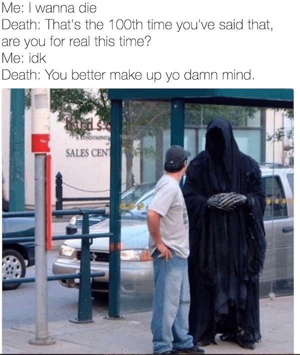 100 Grim Reaper Memes