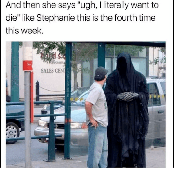 Image result for grim reaper meme